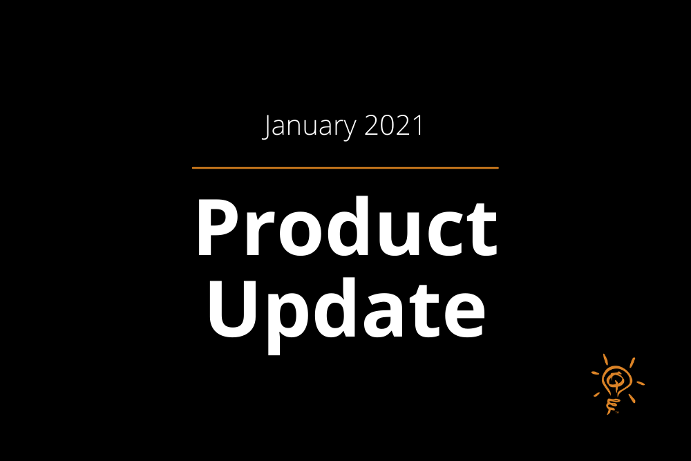 Product Update | January 2021