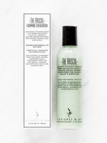 THE RASCAL - Refining Foaming Exfoliator