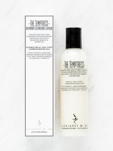 THE TEMPTRESS - Vitamin Cleansing Lotion