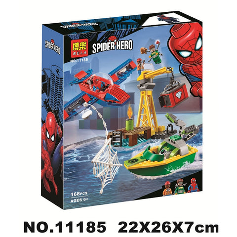 Spider-man: Doc Ock Diamond Heist Building Blocks Toys Bricks Gift Compatible With Legoinglys Marvel  Avengers Super Hero 76134