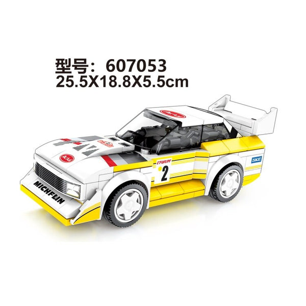 SEMBO Blocks Super Race Car Building Bricks Famous Vehicle Compatible With Legbs Racing Educational Toy Boy Gifts Kids Present