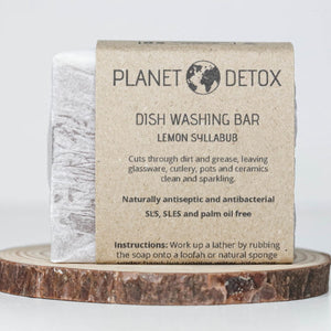 Dish Washing Soap Bar - Lemon Syllabub