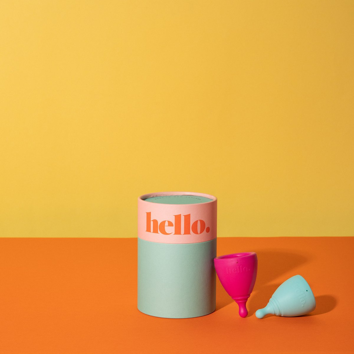 Hello Cup Double Box -XS & S/M / S/M & L