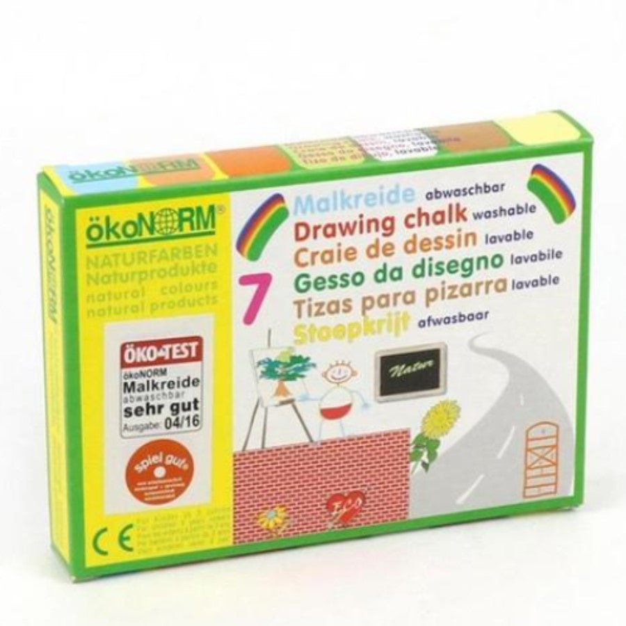Eco-conscious big chalk 7 colours