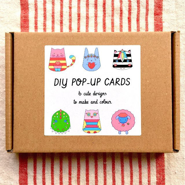 DIY pop-up cards kit - 6 designs