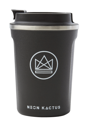 Stainless Steel Insulated Coffee Cup - 380ml/12 oz
