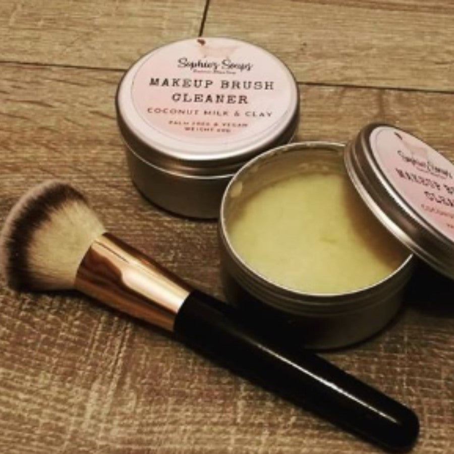 Handmade Solid Makeup Brush Cleaner