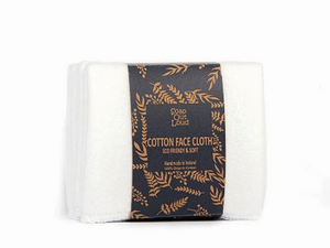Organic Cotton Face Wipes - 4 Pack
