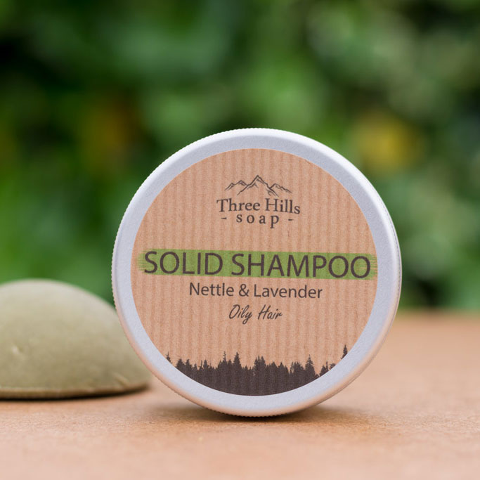 Shampoo Bar for Oily Hair - Nettle & Lavender