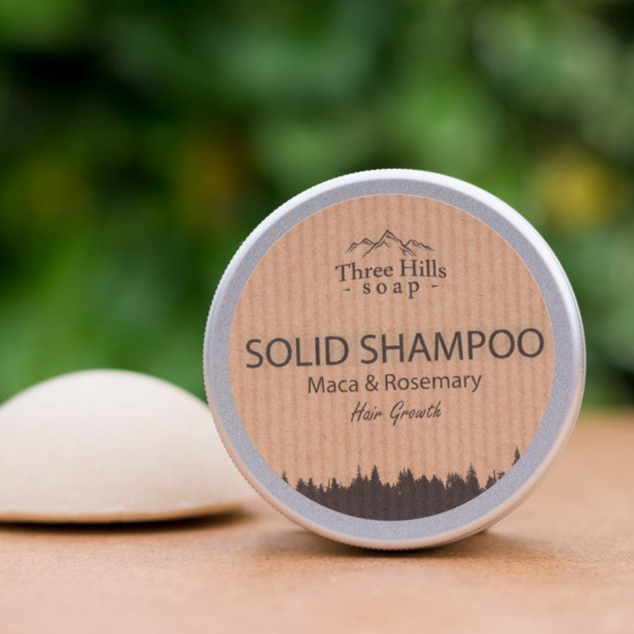 Shampoo Bar for Hair Growth – Maca and Rosemary