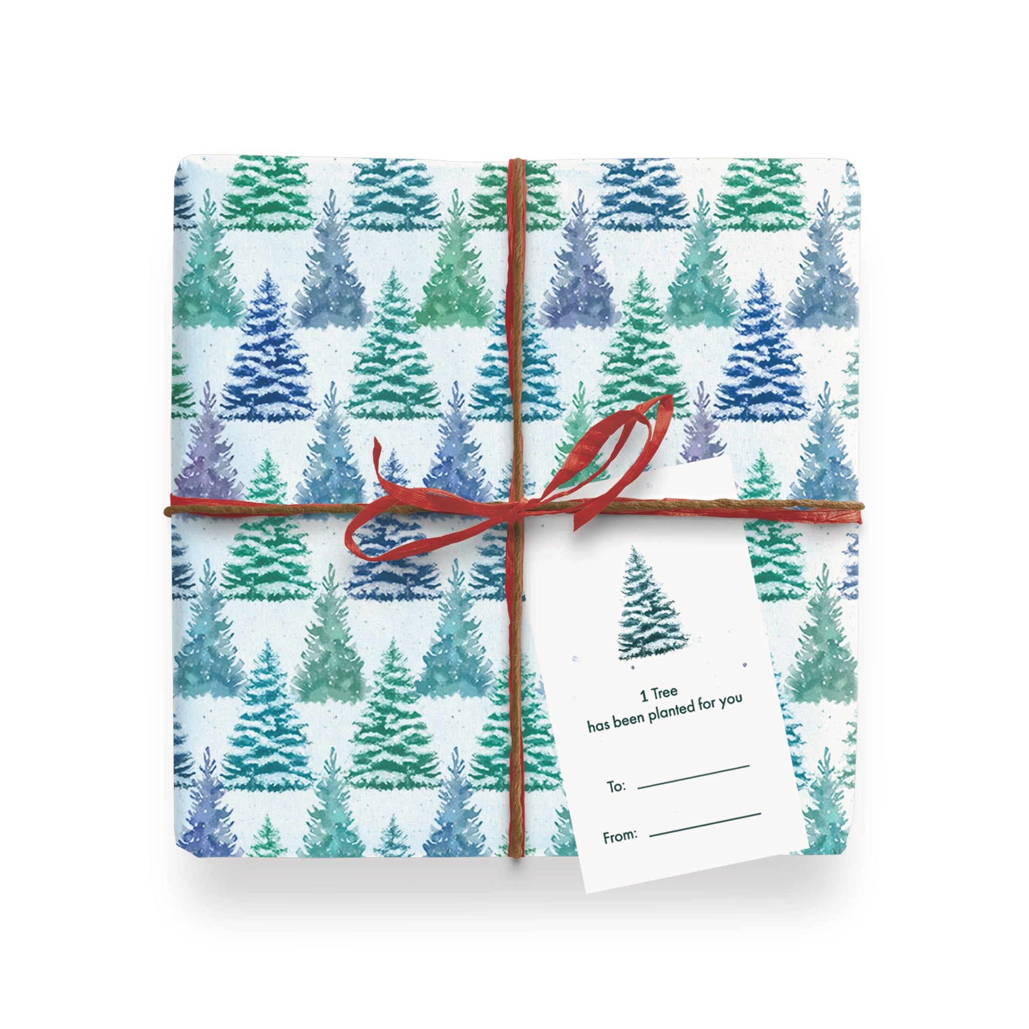 Festive Wrapping Paper Pack - 10 sheets