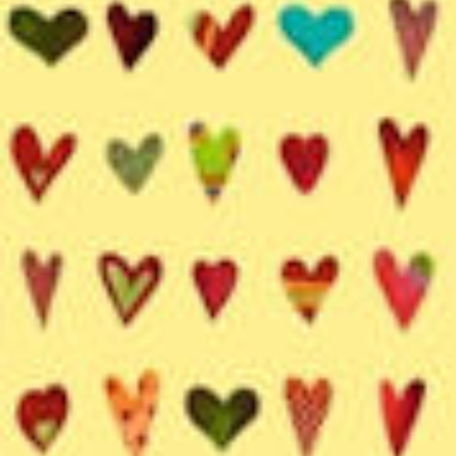 Hearts Gift Wrapping Paper