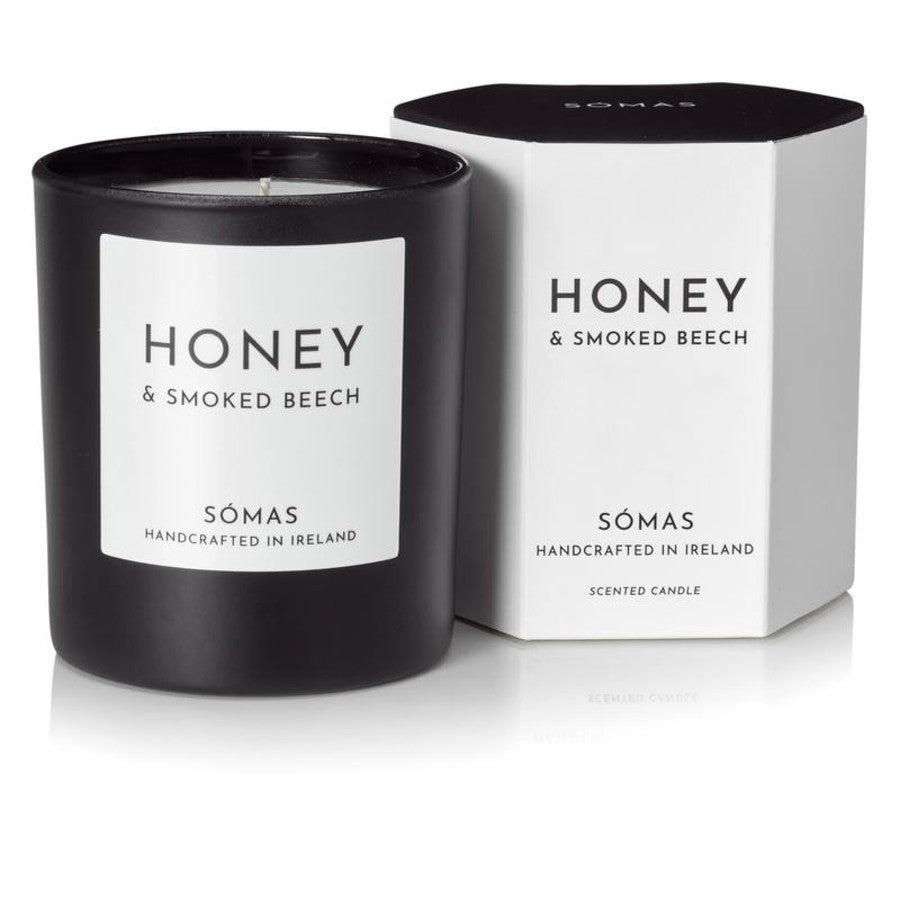Honey & Smoked Beech Scented Soy Candle
