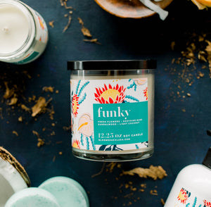 Funky 50 Hour Soy Candle