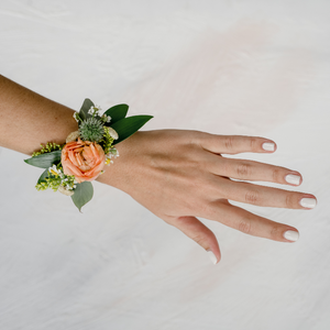 Cuff Corsage on Hand • Bloom Shakalaka • Funky Fresh Flower Shop • Lakeland, FL