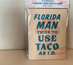 Florida Man postcard set