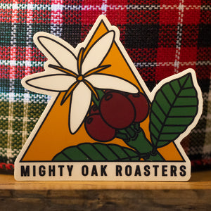 "Mighty Oak 3"" Botanical Sticker"
