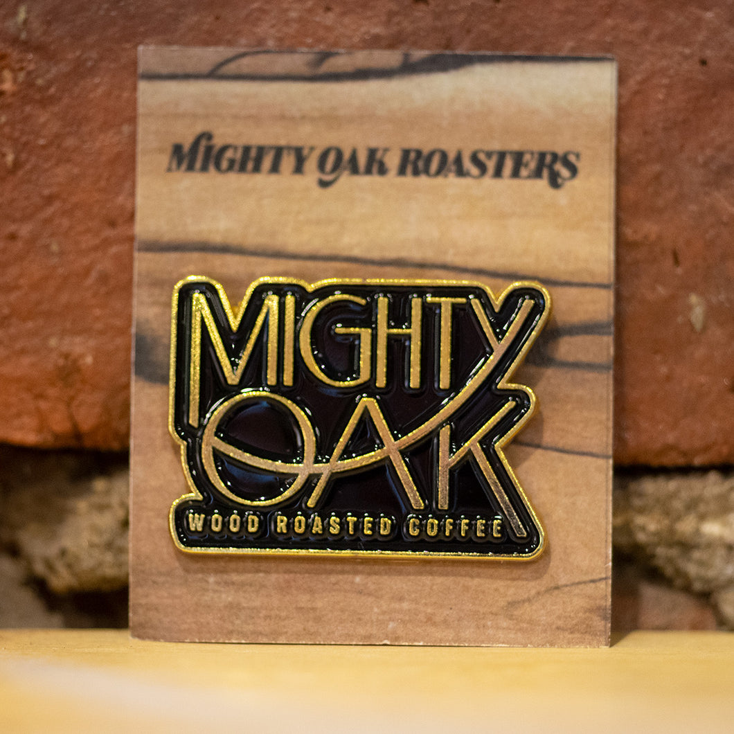 Mighty Oak Logo Pin