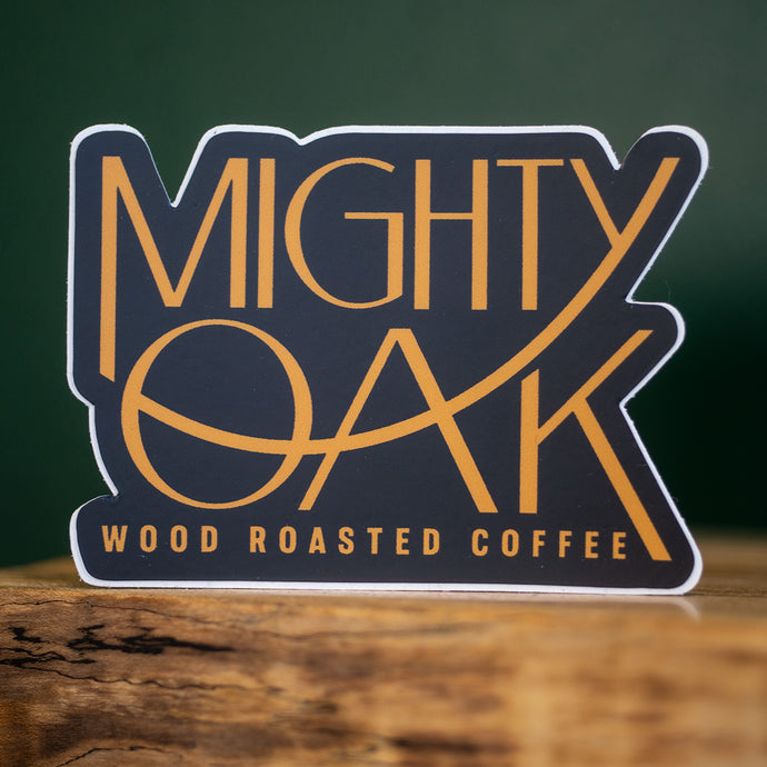 Mighty Oak logo sticker