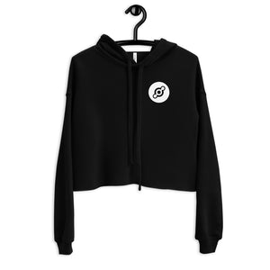 The People's Network Crop Hoodie