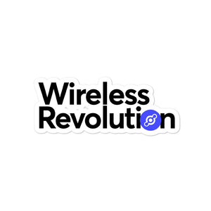 Wireless Revolution Sticker