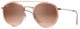 Ray-Ban RB3647N Round Double Bridge