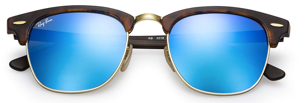 Ray-Ban RB3016 Clubmaster Flash Lenses
