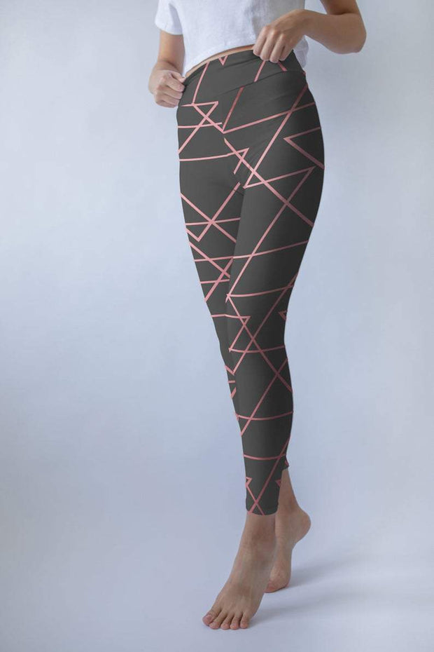Geometric Printed leggings Capris & Shorts