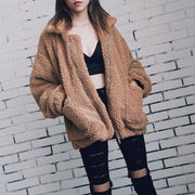 t Faux Fur Winter Coat