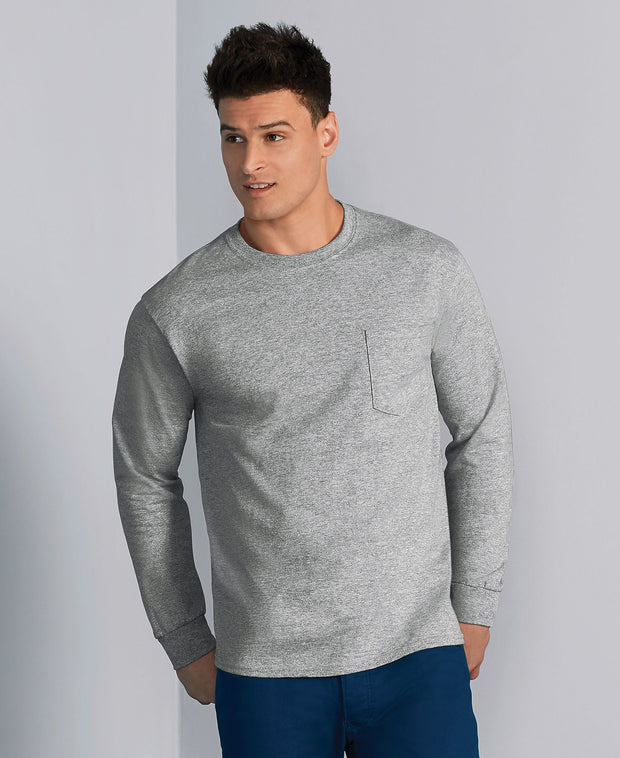 Ultra Cotton Adult Long Sleeve Tee
