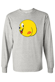 Kiss My Butt Long Sleeve Shirt Kiss My Butt