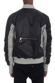 TWO TONE BOMBER- BLACK