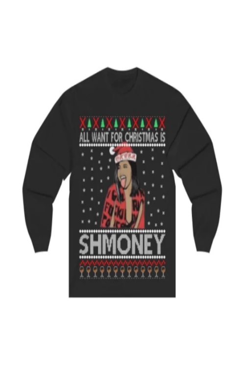 Cardi B Schmoney Christmas Shirt