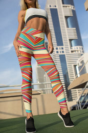 Multicolor Gym Leggings