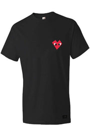 I Heart - Mens Black Shirt
