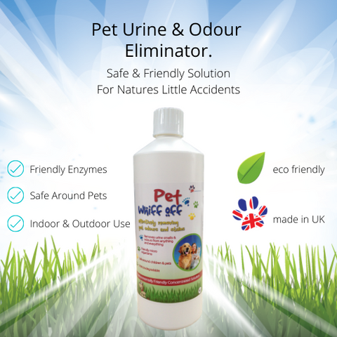 Pet Whiff Off Dog & Cat Urine Odour Remover