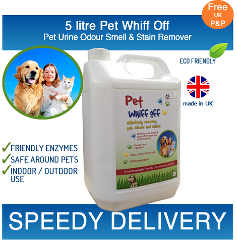 Image of Pet Whiff Off 5L | Free Speedy Delivery