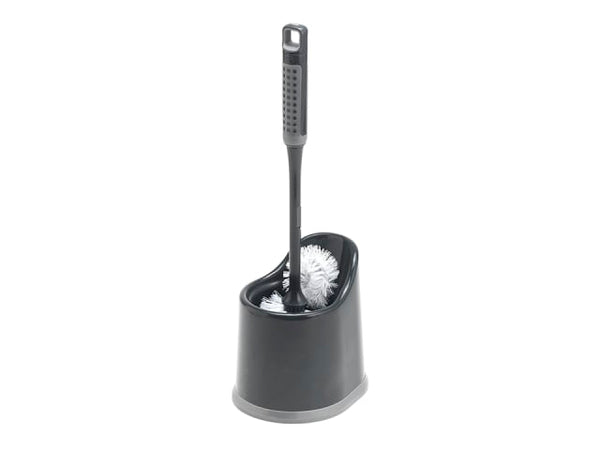 Addis 517707 Comfi Grip Toilet Brush Metallic