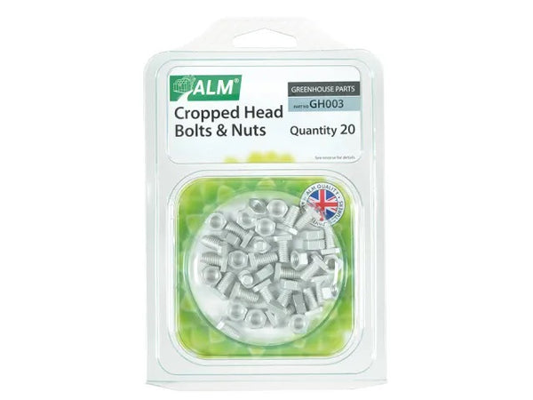 ALM GH003 Cropped Glaze Nuts and Bolts