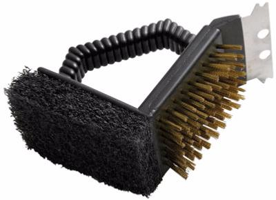 Landmann 02076 3in1 Barbecue Grill Cleaning Brush