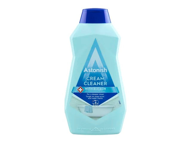 Astonish Cream Cleaner With Bleach 500ml C2380