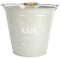 Manor 0452 Cream Ash Bucket and Lid