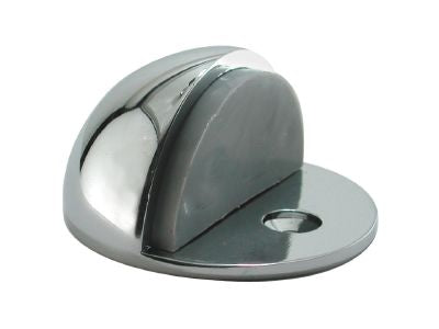Centurion Shielded Oval Door Stop Chrome