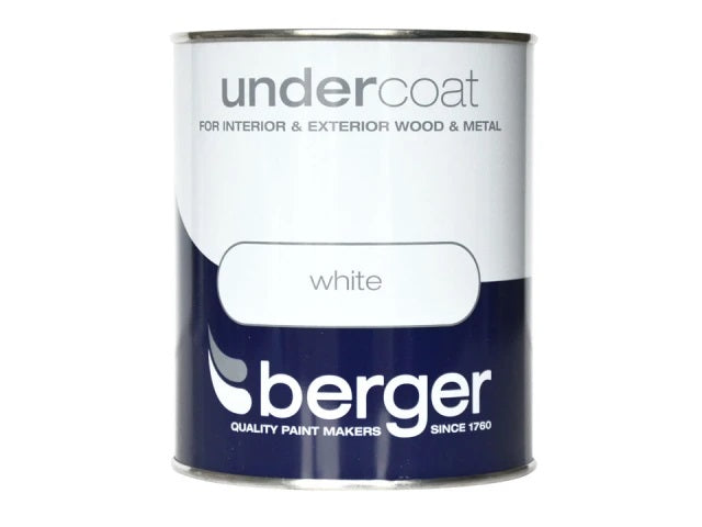 Berger Undercoat White 750ml 5089640