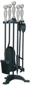 Manor 1056 Black & Pewter Companion Set