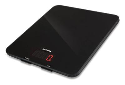 Salter 1160BKDR 10KG High Capacity Kitchen Scales