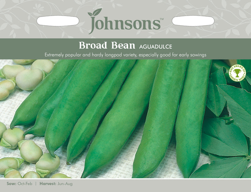 Johnsons 120998 Vicia faba - Broad Bean Aguadulce