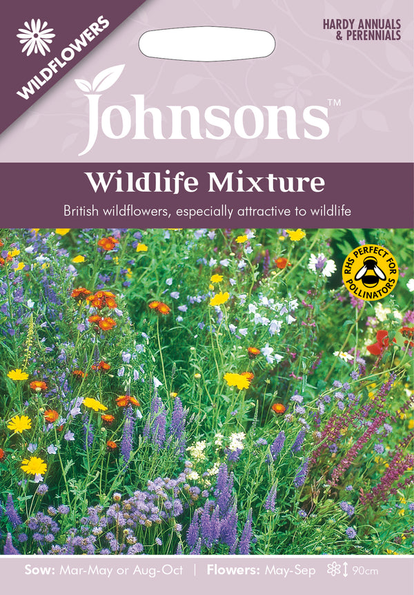 Johnsons 121001 Wildflower Wildlife Mixture