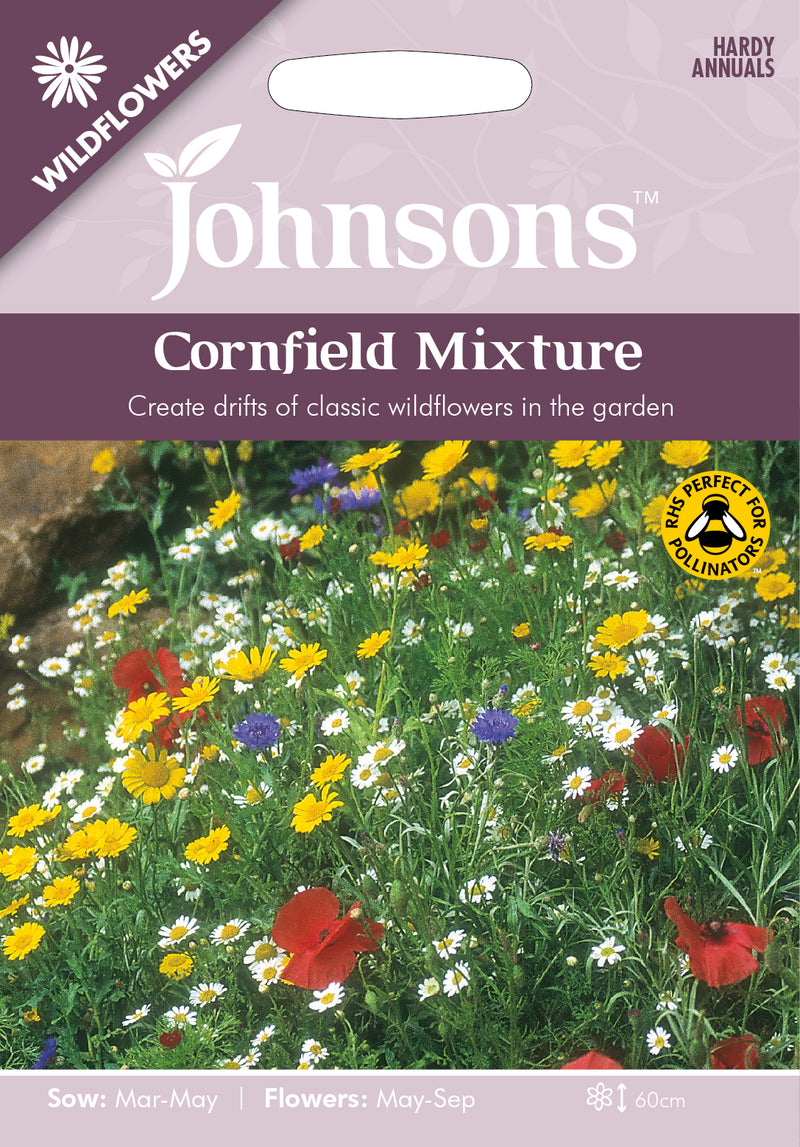 Johnsons 121015 Wildflower Cornfield Mixture