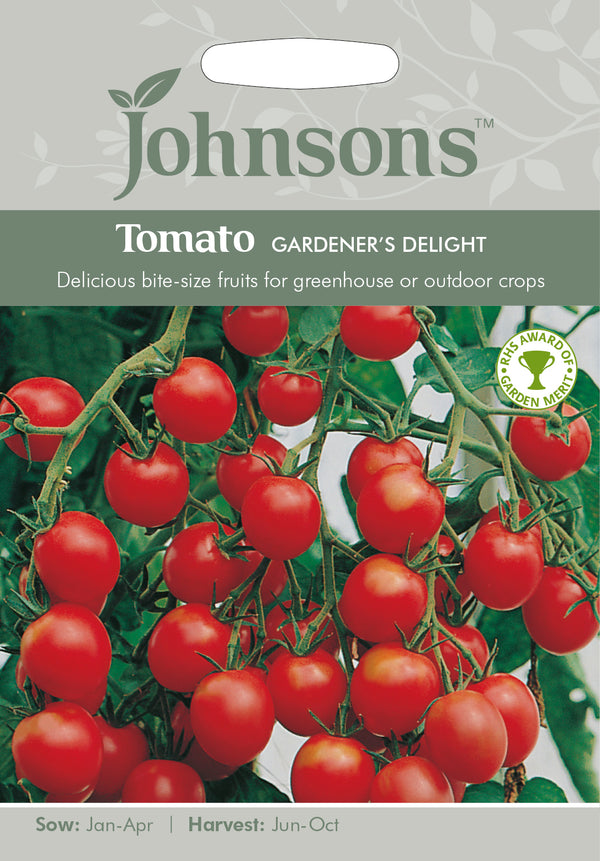Johnsons 121016 Lycopersicon lycopersicum - Gardener's Delight Tomato Seeds